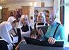 Выставку о традициях сестричества в России посетили сестры милосердия из Киева