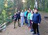 Молодежный отдел организовал поход к Верхневыйскому пруду