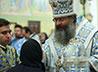 В Предпразднство Успения Пресвятой Богородицы, владыка Кирилл совершил Всенощное бдение в Свято-Троицком соборе Екатеринбурга