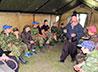 Черноусовские кадеты и казаки поучаствовали в соревнованиях «Казачий Дозор»