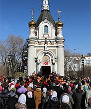 Традиционный Пасхальный Крестный ход пройдет 1 мая