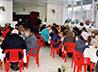Почти 2000 пасхальных обедов приготовили в Ново-Тихвинской обители для бездомных и малоимущих