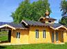 В п. Басьяновском продолжаются работы по благоустройству храма
