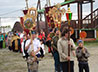 Состоялся крестный ход по святым местам Каменского района в честь трехлетия Каменской епархии