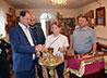 Известный предприниматель посетил Дом ребенка и храм св. мч. Наталии при ИК-6