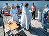 Крещение в водоеме Нижнетуринского водохранилища совершили в Лесном