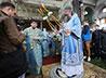 В день Успения Пресвятой Богородицы владыка Кирилл совершил Божественную литургию в Успенском соборе г. Екатеринбурга (на ВИЗе)