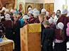 Молебен на начало учебного года совершили в Никольском храме г. Заречного
