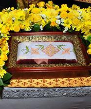 В Екатеринбург для поклонения верующих прибудет пояс святителя Иоанна Шанхайского