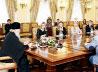 Святейший Патриарх Кирилл встретился с журналистами, освещающими деятельность Его Святейшества