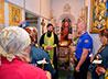 Молебен и литию совершили в Главном управлении МЧС по Свердловской области