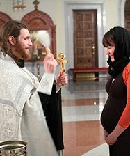 Центр защиты материнства приглашает всех желающих 2 июля на молебен для беременных