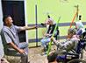 Лежачих больных в Обители милосердия восстанавливают физическими упражнениями