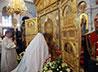 Митрополит Кирилл совершил праздничную Литургию перед образом «Спас Нерукотворный»