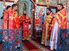 Первая Божественная литургия совершена в Никольском храме п. Рудничный