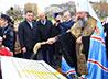 Митрополит Кирилл совершил в Первоуральске закладку Богоявленского собора