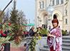Гостей Свято-Николаевского монастыря певица Ольга Пименова поздравила концертом