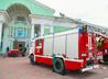 Показательные пожарно-тактические учения провели в г. Лесном
