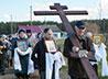 Поклонный крест установили в праздник Крестовоздвижения в селе Бичур