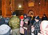 Кадеты и казаки хутора «Благовещенский» приняли участие в раздаче горячего питания бездомным