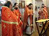 Память расстрелянного настоятеля Феликса Козельского в Успенском соборе почтили заупокойной Литургией