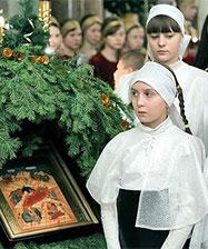10 января уральцев приглашают в Храм-на-Крови на детскую Архиерейскую литургию