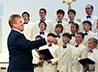 Воспитанники мужского хорового колледжа поддержали сверстников из РЦ «Талисман»