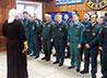 Серовские спасатели встретили свой профессиональный праздник молебном в пожарной части