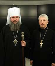 Митрополит Евгений поздравил православный телеканал «Союз» с 16-летием