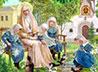 В обители милосердия завершает работу выставка «Святые жены»