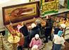 Паломники из Екатеринбурга почтили память сщмч. Константина в с. Меркушино