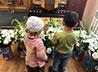 В Успенском соборе подвели результаты конкурса на лучший букет для Пресвятой Богородицы
