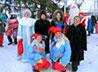 Воскресная школа Покровского прихода с. Байкалово приняла участие в конкурсе Дедов Морозов и Снегурочек
