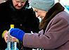 Сотни людей приходят за водой к освященным прорубям в деревнях Ирбитского района: Дубская, Лиханка, Бердюгина, Зайково, Чусовляны