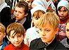 Праздничная «детская» Литургия отслужена в екатеринбургской Преображенской церкви на Уктусе