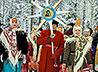 Святочные гулянья у храма Бориса и Глеба объединяют детдомовцев, инвалидов и спортсменов