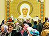 До 13 апреля в Иоанно-Предтеченском соборе будет пребывать чудотворная икона Матроны Московской