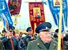 Крестный ход казаков станицы «Державная» отправился в путь по улицам Черемшанки
