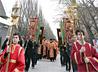 Крепкий мороз не помешал жителям Волчанска отметить праздник святого Николая Крестным ходом по городским улицам