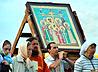 Крестный ход в память Царской Семьи прошел в Верхних Сергах