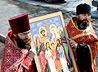 Двенадцать крестоходцев завершили пеший путь из Санкт-Петербурга в Екатеринбург, пройдя по старинной Коптяковской дороге