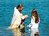 В верхнебаранчинском пруду 56 человек приняли Крещение