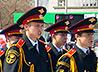 135 первокурсников Лицея милиции получили благословение на успешную учебу
