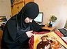 Сестры Ново-Тихвинской обители вышили плат на мощи сербского святого Петра Цетиньского