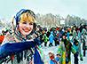 Масленичные гуляния прошли в центре Екатеринбурга