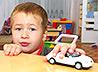 Михаило-Архангельский приход передал в Кушвинский детский дом книги и игрушки