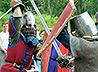Реконструкции исторических боев перенесли молодежь в Средние века