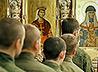 На архиерейской Литургии уральские военные помолились Александру Невскому