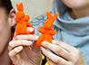 Добровольцы из Крестовоздвиженской общины изготовили мягкие игрушки для «Солнечных детей»