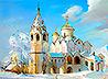 Пейзажи и храмы родного Урала представлены на персональной выставке екатеринбургского живописца Андрея Ржакова